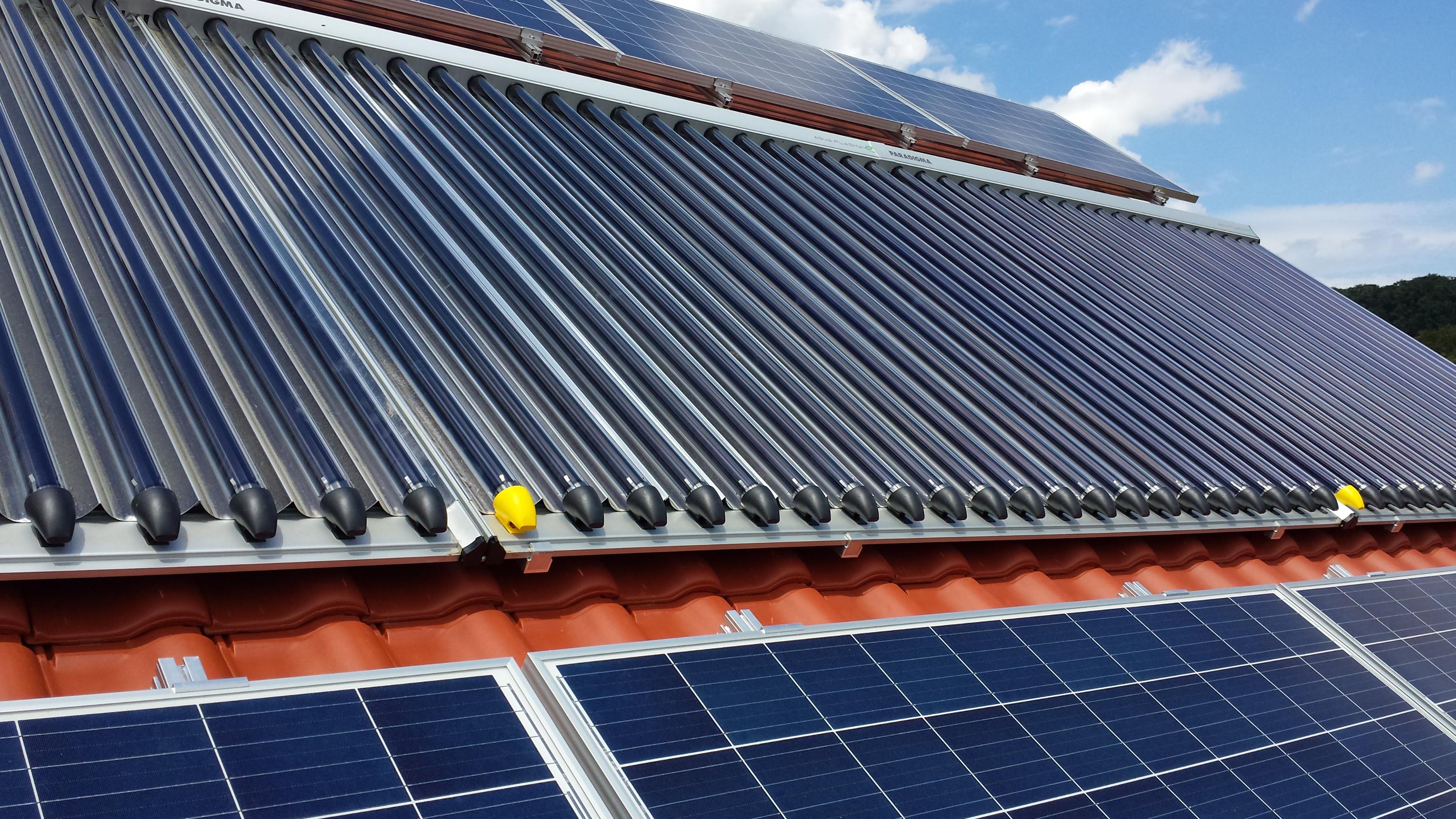 Solarthermie für Warmwasser und Heizung - Heizsysteme Knetzger