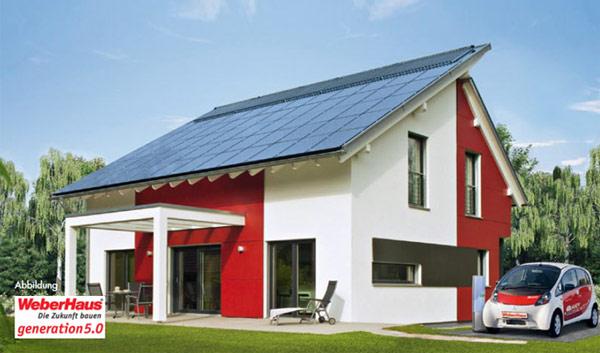 Sonnenenergiehaus
